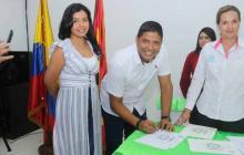 Alcalde electo de Malambo, Rumenigge Monsalve, recibió credencial de la Registraduría