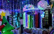 Las luces led se han convertido en una alternativa económica para armar la decoración.
