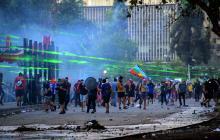 Un mes violento en Chile: más de 15.000 detenidos durante protestas