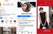 Estos son los perfiles en redes sociales del supuesto modelo atracador en Cartagena