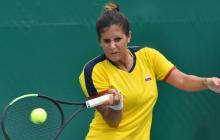 La tenista barranquillera María Paulina Pérez.