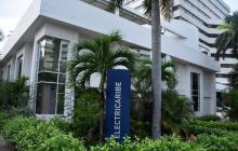 Fachada de las oficinas de Electricaribe, en el norte de Barranquilla.