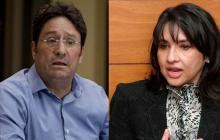 Francisco Santos, embajador en EEUU, y Claudia Blum, designada canciller.