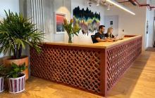 Las nuevas oficinas que abrió WeWork en el norte de Barranquilla.