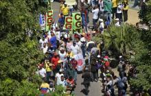 """En video   """"Barranquilla marchó en paz y tolerancia"""": alcalde Char"""