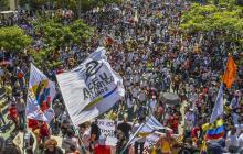 En video | Masiva protesta contra el Gobierno