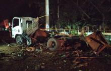 Señalan del atentado terrorista en el Cauca a disidencias de las Farc