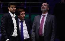Gerard Piqué (i), defensa del Barcelona y empresario.