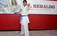 """""""Mi hermana es mejor karateca que yo, más completa"""": Shanee Torres"""