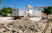 """Vecinos se quejan por una """"obra abandonada"""" en Barlovento"""