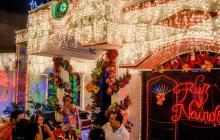 Las familias celebran las fiestas de fin de año al son de temas de Diomedez Díaz, Gloria Estefan, entre otros.