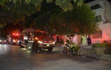 Incendio en la Clínica La Asunción: solo fue el susto