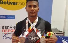 Kevin Sandoval se cuelga una plata y un bronce en los Juegos Nacionales