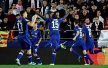 Valencia y Chelsea empatan en partido frenético y dejan abierto el grupo H