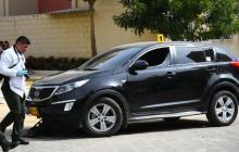 Ataque sicarial en Las Cayenas: le dieron ocho balazos cuando iba en su camioneta