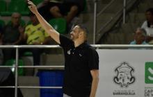El entrenador cartagenero Tomás Díaz.