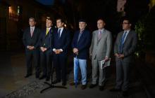 Edgar Díaz, Richard Aguilar, Rodrigo Lara, Jaime Rodríguez, Leonardo Rico y David Pulido.