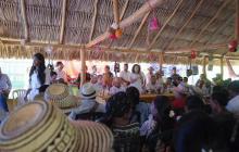 El Gobierno Nacional se reúne en la Alta Guajira con las autoridades tradicionales y comunidades para construir el plan de acción.