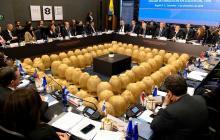 """Colombia pide sanciones """"más efectivas"""" contra Maduro"""