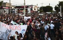 Un total de 2.500 uniformados vigilarán las dos marchas en Barranquilla