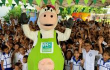 Este año, desde que Fedegan retomó administración del FNG, han llevado 181.288 litros de leche a 201 instituciones y 24 mil niños que participan de jornadas lúdicas, en La Guajira, Chocó, Santander y Bogotá.