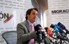 Director de Migración Colombia presentó su renuncia irrevocable a Duque