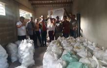 Los cosechadores de la Organización de Productores Asoreagro de Mingueo.