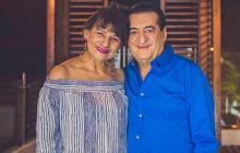 Jorge Oñate y su esposa Nancy Zuleta, quien también fue citada por Fiscalía.