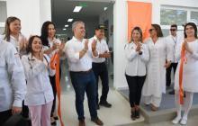 El presidente Duque inaugura el Hospital de Mompox.