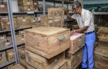 Los restos fueron enviados en cajas al municipio de Malambo.