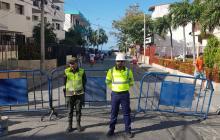 Cierran el acceso a playa de El Rodadero para proteger turistas de la informalidad