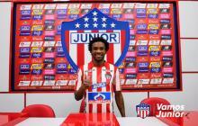 Didier Moreno presentado como nuevo jugador de Junior.