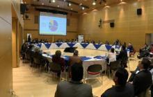 Reunión de la comisión de concertación salarial realizada el pasado jueves.