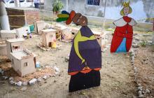 Nace Belén en El Edén 2000 con el primer pesebre comunitario