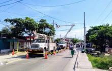 Más de 40 sectores de Soledad y Barranquilla estarán sin luz este lunes