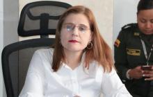 Sandra Devia Ruiz, gobernadora de Córdoba.