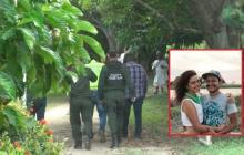 Los cuerpos de Rodrigo Monsalve y Natalia Jiménez fueron hallados en esta zona.