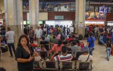 Más de 14 millones de personas se han movilizado a través de terminales terrestres