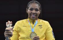 Jessica Caicedo, deportista que le fue despojada su medalla por dopaje.