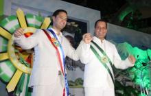 Mello Castro y Luis Alberto Monsalvo.