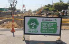 Cierres viales por obras en Barranquilla desde este lunes