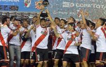 River Plate, campeón de la Copa Sudamericana.