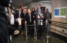 Weinstein llega a la Corte Suprema del Estado en Manhattan