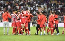El Atlético jugará la final de la Supercopa tras vencer 3-2 al Barcelona