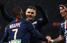 Icardi mete al PSG en semifinales de la Copa de la Liga francesa