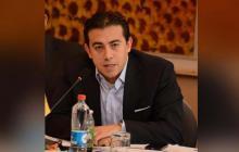 Alexander Vega, registrador Nacional.