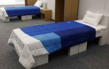 Fabricante asegura que camas de Tokio 2020 solo resisten dos personas máximo