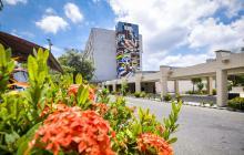 Fachada de la sede de Alta Complejidad del Hospital Universitario Cari.