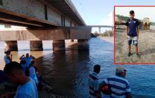 Buscan a joven que desapareció cuando se bañaba debajo del Puente Pumarejo