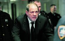 El exproductor de cine Harvey Weinstein, acusado de agresión sexual.
